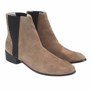 Raye Celeste Tan Suede Chelsea Ankle Boot NEW 9.5